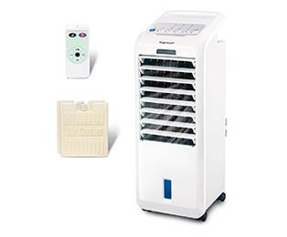 Traslado de escritorio port/átil Air Cooling Fan con temporizador para el dormitorio de la oficina en casa Aire acondicionado m/óvil multifunci/ón Air Cooler 220V