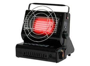 Calefactores para tiendas de campaña