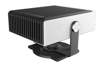 Mini tomacorriente el/éctrico de pared Calentador de llama Calentador de aire PTC Calentador de cer/ámica Estufa Radiador Ventilador pr/áctico de pared para el hogar con pantalla LED Negro